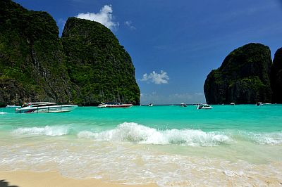 The Beach, Maya Bay, isla Koh Phi Phi Leh